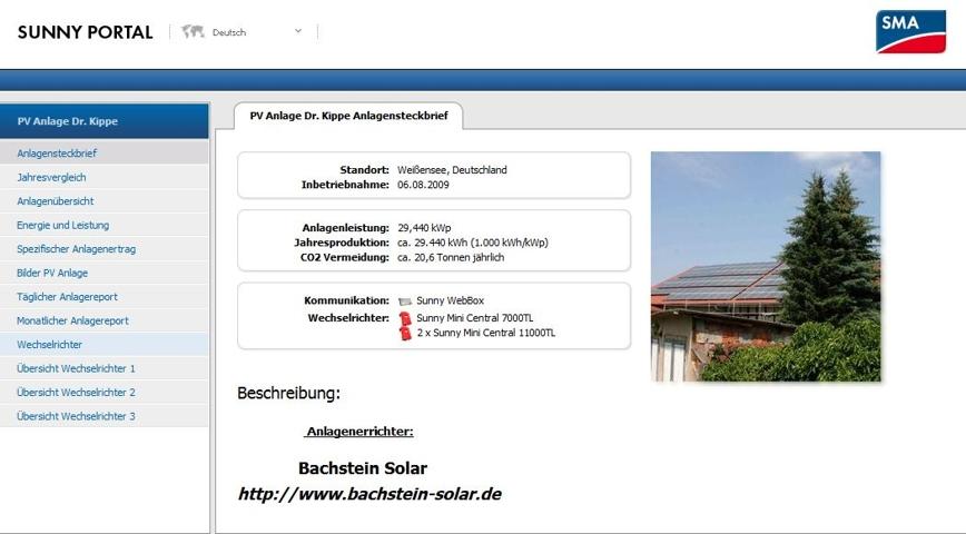 sma bietet online monitoring f r private photovoltaik anlagen gratis an pv magazine deutschland. Black Bedroom Furniture Sets. Home Design Ideas